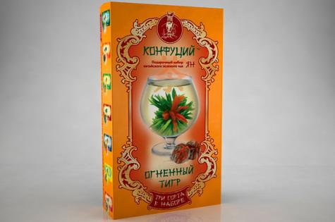"""Серия упаковок чая """"Ин"""" и Янь"""""""
